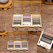 Smoky Eyeshadow Glitter Natural Shimmer Palette Warm Eye Shadow Makeup 5 Colors