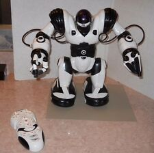 ROBOSAPIEN w/ REMOTE Toy Robot Cyborg WowWee Robotics Tested And Working