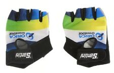 Santini Orica GreenEDGE Team Guanto Estivo Cycling Bike Gloves - Half Finger