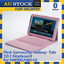 Samsung Galaxy Note 10.1 N8000 N8010 PU Leather Case Bluetooth Keyboard Stand P