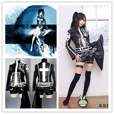 D.Gray-man Cosplay Costumes Lenalee Lee リナリー‧リーBlack Leather Suit * Custom-made