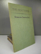 Fances Horovitz - The High Tower - 1st Edition - New Departures - 1970 (ID:544)