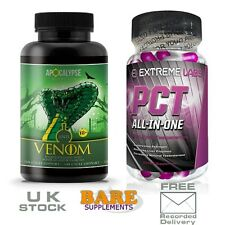 Apocalypse Nutrition Anti Venom OCS + Extreme Labs PCT - Cycle Support Stack