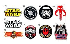 Star Wars Movie Troopers prop Jeans Shirt Bag lego collectible set Iron on Patch