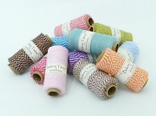 Bakers Twine 20m 100% Cotton Best Quality Wide Range of Beautiful Colours