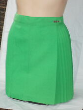 Pleated Skirts Valley Green Polyviscose Ladies Sizes 8 - 10 - 12 and 14 Netball