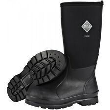 Muck Boots, Men's, Women's, Chore Hi, Black. Work boot, Safe and Sturdy, CHH