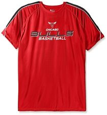 Chicago Bulls NBA Majestic Mens Buzzer Beater Synthetic Shirt Big & Tall Sizes