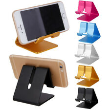 Portable Aluminum Mount Holder Display Stand Cradle Base for iPhone/Tablet/ iPad