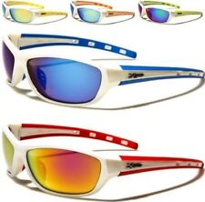 NEW SUNGLASSES WHITE DESIGNER MENS LADIES MIRROR AVIATOR MIRRORED WRAP SPORTS