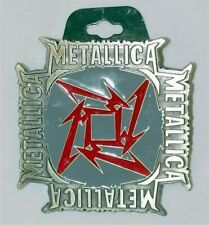 METALLICA the who SONS OF ANARCHY slipknot SLAYER rush METAL BELT BUCKLE
