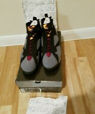 NIKE AIR JORDAN 7 RETRO BORDEAUX 2011 SIZE 13 BRED1,FIRERED4,FUTURECAMO