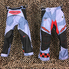 NEW 2014 Dye C14 Padded Tournament Paintball Pants - Bomber Blue/Red