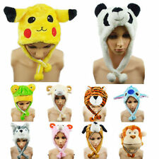Cartoon Animal Hat Lovely Fluffy Plush Cap Fashion Unisex New for Him or Her