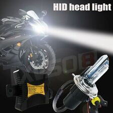 55W HID H/L H4 Bi-Xenon Motorcycle Conversion Slim Kit Headlight Digital Ballast