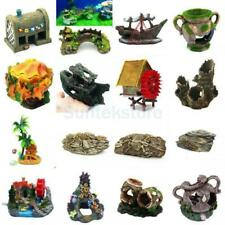 Aquarium Ornament Resin Ornament Sculpture Fish Tank Decoration Fish Hiding Cave