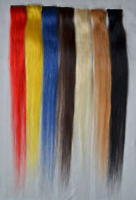 "Lot 18"" Clip In Synthetic Fiber Women Hair Extensions Straight Any Color 7g/pc"
