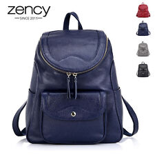 2016 Women's Vintage Genuine Leather backpack Rucksack Bag Laptop Casual Travel