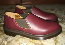 NEW Unisex Mens 4 5 DR MARTENS Oxblood Red Louis Gusset Slip On Shoes Womens 5 6