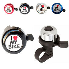 For Safety Cycling Bicycle Bell Heart Sound Alarm Bike Metal Handlebar Horn Ring