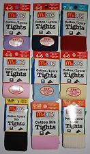 Newborns,Toddlers,4 to 10 Year Old McKids Tights Cotten/Lycra Made In America