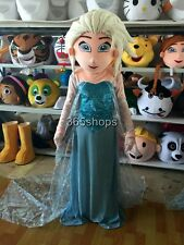 Adult Size Elsa Princess Mascot Costumes Elsa Costume Fancy Dress