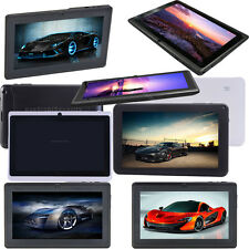 "Best 7""/9""/10.1"" A33 Android 4.4 Quad Core Dual Camera 8GB Tablet WiFi Bluetooth"