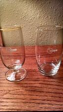 NWA Northwest Airlines Drinking Glass Stemware Wine Champagne Water First Class