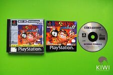 Worms Pinball PS1 Playstation 1 PAL Game + Works On PS2 & PS3