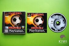 Football Madness PS1 PAL Game + Works On PS2 & PS3