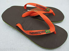 Havaianas Flip Flops Brasil Logo Unisex Summer Beach Sandals All Sizes New