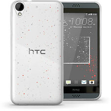 Glossy TPU Gel Case for HTC Desire 530 Protective Gel Skin Cover + Screen Prot