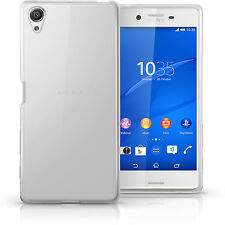 Glossy TPU Gel Case for Sony Xperia X F5121 2016 Skin Cover + Screen Protector
