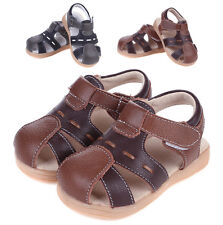 2016 Summer Baby Toddler Kids Children Boys Shoes Boys Genuine Leather sandals