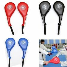 Double Taekwondo Kicking Pad Thick Kickboxing Karate MMA TKD Foot Target Punch