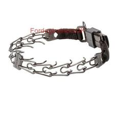 Herm Sprenger Black Plated Stainless Steel Pinch Collar | Dog Prong Collar