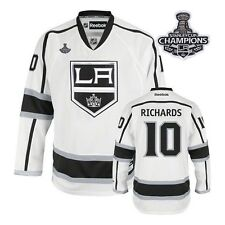 LA Kings Mike Richards Real 2014 Stanley Cup Finals Game Jersey NHL Reebok H C62