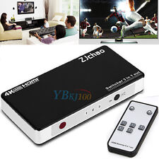 2/3/5 Port 1080P HDMI Switch Selector Switcher Splitter Hub+Remote for HDTV US