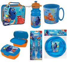 Disney Pixar Finding Dory Lunch Bag Bottle Dinner Set Cutlery Lunch Box Mug Cup