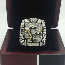 2009 Pittsburgh Penguins Hockey Stanley Cup Championship Ring 8-14Size + BOX