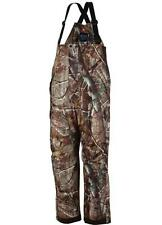 COLUMBIA Trophy Shot Hunting Bib Pant Mens sz Medium Real Tree AP Camouflage