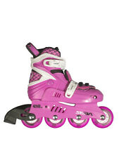 SEBA JUNIOR PINK/WHITE adjustable inline skates