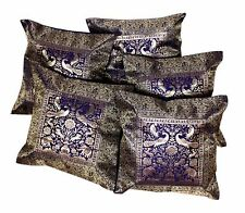 5pcs-100Pcs Unique Ethnic Silk Banarasi Cushion Covers Wholesale Lot From India