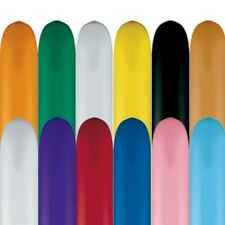 646Q Standard Colours Qualatex Modelling Balloons x 50 - All Under One Listing