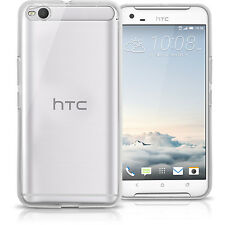 Glossy TPU Gel Case for HTC One X9 (2016) Gel Skin Soft Cover + Screen Protector