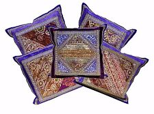 5pcs-100Pcs Indian Home Decor Velvet Brocade Silk Cushion Covers Wholesale Lot
