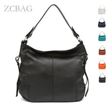 NEW Classic 100% Genuine Leather Women Handbag Ladies Tote Shoulder Bag Satchel