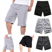 Men Boy Sports Shorts Casual Cargo Baggy Flat Front Baseball Leisure Short Pants