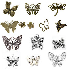 Butterfly Charm Pendants Animal Insect Papillon Breloque Crafts Jewelry Making