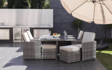 CUBE RATTAN GARDEN FURNITURE SET CHAIRS SOFA TABLE NEW MODEL 2016